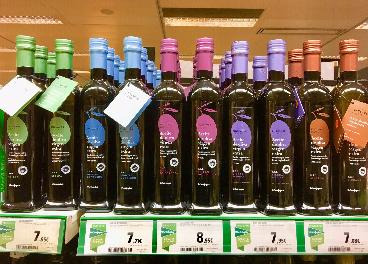 La gran apuesta de El Corte Ingles por el aceite de oliva virgen extra premium