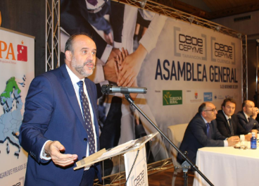 Vicepresidente autonómico, José Luis Martínez Guijarro.