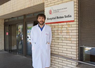 El Dr. Javier Basterra, uno de los autores del estudio.