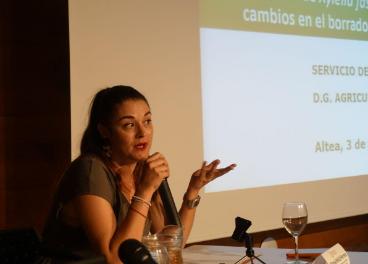 Mireia Mollà, consejera de Agricultura de la Comunidad Valenciana.