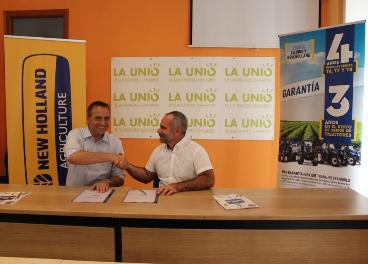 Firma convenio New Holland y La Unio