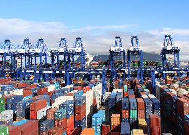 Containers en un puerto
