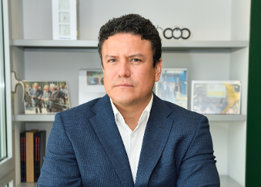 Rodrigo Jaén, director general de la firma para España y Portugal.