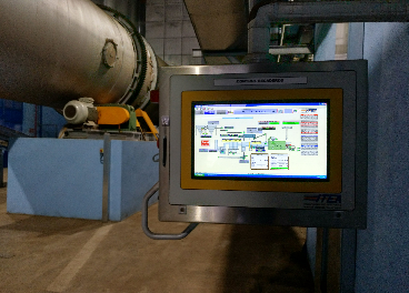 Extractora de orujo