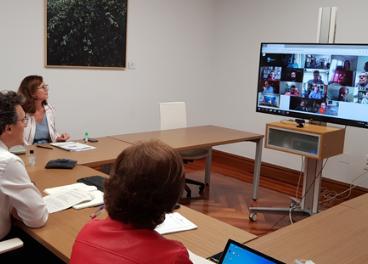 Reunión por videoconferencia entre el Mapa y el sector oleícola.