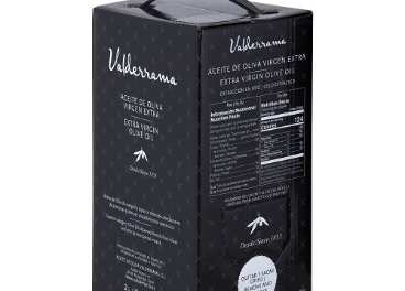 Envase Bag In Box de Aceites Valderrama.