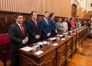 Miembros del equipo de Gobierno de la Diputación de Jaén.