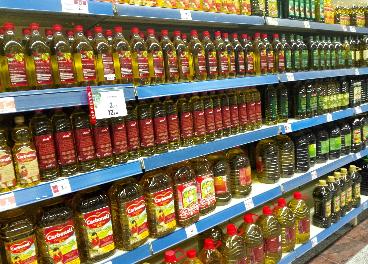 Lineal de aceites de oliva