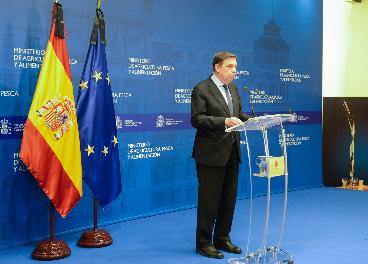 Ministro de Agricultura, Luis Planas