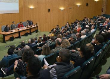Presentación del Centro de Referencia Nacional de Vinos y Aceites de Ciudad Real.