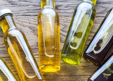 Distintas categorías de aceites