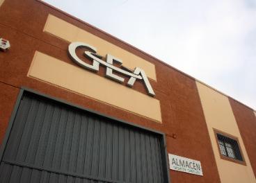 Sede de GEA en Úbeda.
