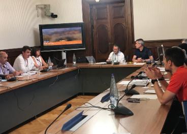 Intervención de la FCAC en el parlamento catalán.