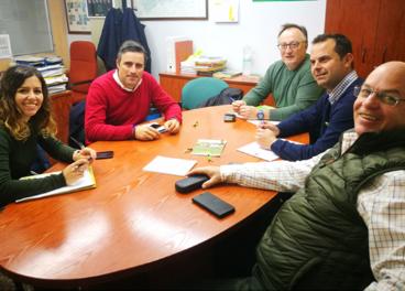 Reunión del sector olivarero de Jaén.