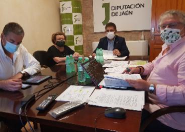 Reunión de seguimiento expediente Paisajes del Olivar de Andalucía para Patrimonio Mundial.