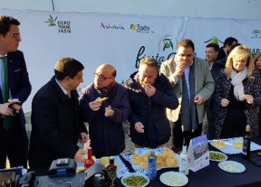 Fiesta Primer Aceite de Jaén celebrada en Martos.