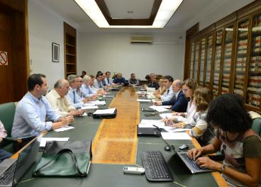 Reunión de la Mesa Sectorial del Aceite de Oliva.