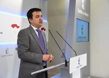 Francisco Martínez Arroyo, consejero de Agricultura de CLM.