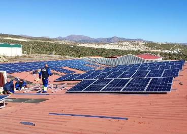 Panales solares sobre cubiertas