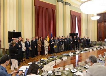 Reunión entre el ministro y el sector agroalimentario.