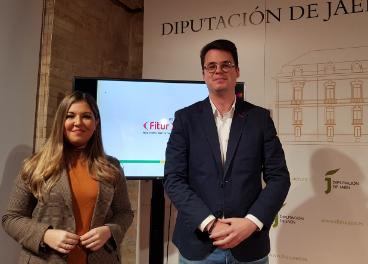 Raquel Morales y Francisco Javier Lozano han presentado la presencia de Jaén en Fitur 2020.