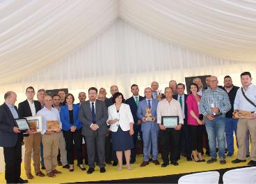 Ganadores en los premios DOP Poniente de Granada