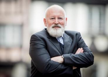 Vicepresidente de la CE, Frans Timmermans.