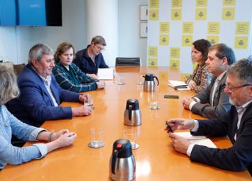 Reunión entre UPA y Correos.