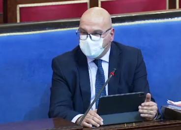 El portavoz de Consumo del PSOE en el Senado, Manuel Fernández.