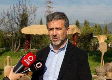 Delegado de Agricultura de la Diputación de Córdoba, Francisco Ángel Sánchez.