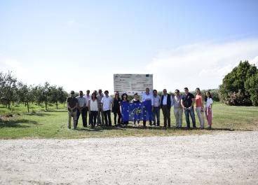 Integrantes del proyecto en su reunión en Pisa.