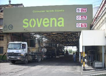 Factoria de Sovena en Sevila