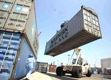 Carga y descarga en un puerto