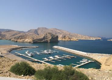 Puerto de Omán.