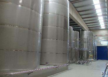 Bodega de aceite de oliva en Picualia
