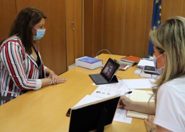 Reunión por videoconferencia entre la Consejería de Agricultura e Infaoliva.