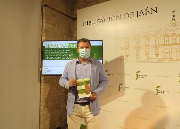 Pedro Bruno en la presentación de Seralma Verde
