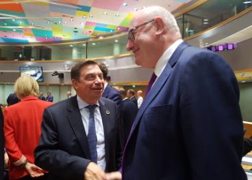 Luis Planas en Bruselas