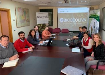 Investigadores del grupo operativo Bioecoliva.