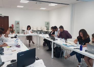 Reunión de los integrantes del proyecto