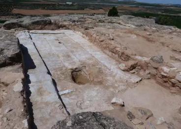 Yacimiento El Palao-Consorcio Patrimonio Ibérico de Aragón.