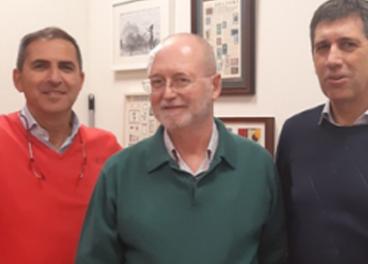José  María Castellano (Instituto de la Grasa-CSIC), José Lapetra y José Manuel Santos, (Distrito Sanitario de Atención Primaria Sevilla-SAS).