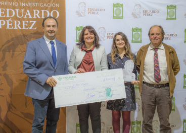 Galardonados en la II edición del Premio Eduardo Pérez.
